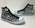New Converse Womens size 5 Chuck Taylor All Star Zebra Floral High Top Sneakers
