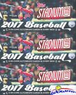 (3) 2017 Topps Stadium Club Baseball Factory Sealed HOBBY Box-6 AUTOGRAPHS