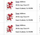 Custom Address Labels Personalized Shipping Stickers Home Office 2.63 X 1