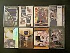 (8) BALTIMORE RAVENS AUTO JERSEY PATCH RC LOT Ray Lewis Joe Flacco