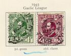 Ireland 1943 Early Issue Fine Used 2.5d. 218944