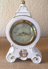 Vintage Mercedes German Porcelain Mantel Clock Sandizell West Germany Hofner