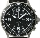 Sinn 757 Cow Leather Pilot Chronograph Sapphire glass Dry capsule Black watch