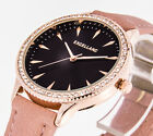 Damenuhr Excellanc Uhr Farbe rose gold Band apricot Armbanduhr analog mit Strass