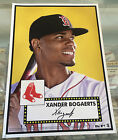 2015 Topps Limited Gold Edition 10x14 Xander Bogaerts 1952 Tribute Wall Art 1 1