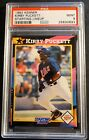 1992 KIRBY PUCKETT KENNER STARTING LINEUP PSA 9 MINT  POP 2   (910)