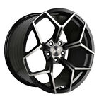 20 STANCE SF06 FORGED BLACK CONCAVE WHEELS RIMS FITS INFINITI G35 COUPE