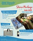 ELNA Sewing Machine - Sew Steady Wish Shine Extension Table Package