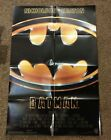 Batman original US 1989 folded 27 by 41 one sheet movie poster in ex cond