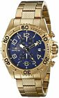 Invicta 17779 Pro Diver Men's 46mm Stainless Steel Gold Blue Dial Watch