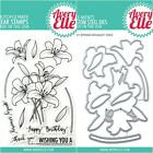 Avery Elle SPRING BOUQUET Clear Stamps Only OR Clear Stamp  Die Bundle