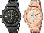 Nixon A404 Womans 38 20 Chronograph 38mm Watch Choice of Color
