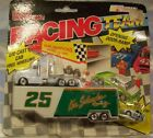 Racing Champions Kenny Schrader Racing Truck and trailer rig w/mini car