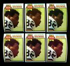 1979 TOPPS #308 OZZIE NEWSOME RC HOF LOT OF 10 NMMT F82605
