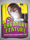 1980 CREATURE FEATURE FULL WAX BOX (36 CARD PACKS) TOPPS