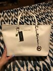 Michael Kors white tote bag new with defects