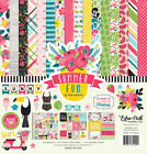 Echo Park SUMMER FUN 12x12 Scrapbook Kit Papers + Stickers Tropical