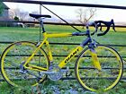 Mens Large 700C Racing Road Bike 27 Campagnolo Mirage Compact Giant Once