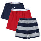 Tommy Hilfiger Mens Boxer Shorts Button Fly Cotton Knit Flag Single Pair New Nwt