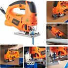 Powerful Laser Electric Jigsaw Cuts WOOD METAL PLASTIC PVC 3 Blade Saw Corded