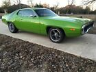 1972 Plymouth Satellite 1972 Plymouth Satellite