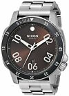 Nixon Men's A506-2097-00 Ranger, Brown Sunray Dial Stainless Steel A5062097