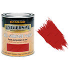 Rust-Oleum Universal All-Surface Self Prime Brush Paint Gloss Cardinal Red 750ml