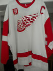 NHL DETROIT RED WINGS STEVE YZERMAN REEBOK AUTHENTIC-ON ICE HOCKEY JERSEY
