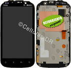 T-Mobile HTC Amaze 4G PH85110 LCD Display Touch Screen Digitizer Frame Part RB