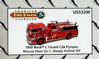 Corgi 1960 Mack C Fire Pumper Sleepy Hollow NY 150 scale Diecast