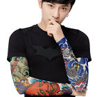 Men Women Nylon Temporary Tattoo Sleeve Arm Stockings Body Art 23 Styles