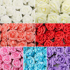 10 50 100 Foam Rose Artificial Flowers Heads Wedding Bride Party Decor Crafts