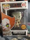 Funko POP! Horror Movie IT: Pennywise w Boat CHASE EDITION Blue Eyes on Box