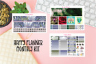 April Showers Monthly Kit Planner stickers Happy Planner sticker
