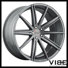 22 BLAQUE DIAMOND BD9 GRAPHITE CONCAVE WHEELS RIMS FITS AUDI D3 A8 QUATTRO