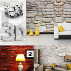 Natural Simplicity Brick Stone Wallpaper Roll Textured Art Wall Paper Decor 3D