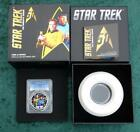 2016 PCGS Proof 70 D Cam Star Trek KIRK  SPOCK Silver Tuval 1 with Box  COA