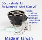 50cc cylinder kit for 50cc 2T Minarelli AM6  Yamaha TZR 50cc 2T AM6 engine