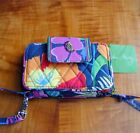 NWT VERA BRADLEY SMARTPNONE iPHONE WRISTLET IN retired JAZZY BLOOMS MINT + TAG