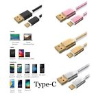 05M 1M 2M Cable Charger Nylon Wire Data Sync for Huawei P9 Nexus 6P One Plus2