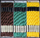36x Needlepoint Embroidery THREAD Anchor Cotton Pearl 3 5g Mixed Lot TX87
