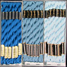 30x Needlepoint Embroidery THREAD Anchor Cotton Pearl 5 Blues FL102