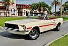 1967 Ford Mustang Convertible GT CS Tribute Fully Restored Power Steering 4 Wheel Disc Brakes 289 4bbl V8 Auto