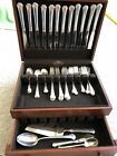 Chippendale by Towle Sterling Flatware Set For 12 Service, 52 Pieces No Monogram