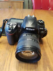 Nikon D200 Digital SLR Body18 70mm charger and 2 batteries
