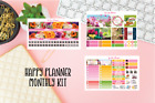 May Flowers Monthly Kit Planner stickers Happy Planner sticker
