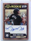 2011 CONTENDERS #RT35 MIKIE MAHTOOK AUTOGRAPH ROOKIE RC, TAMPA BAY RAYS, 031818