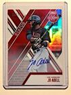 2017 ELITE EXTRA ED JO ADELL RC STATUS RED DIE CUT AUTO 10 14 75