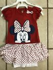 Disney Baby Girls 3 6 Month Minnie Mouse Outfit