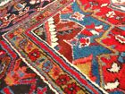 C 1930 Persian Serapi Heriz Hand Made Exquisite Stunning Antique Rug 8x11